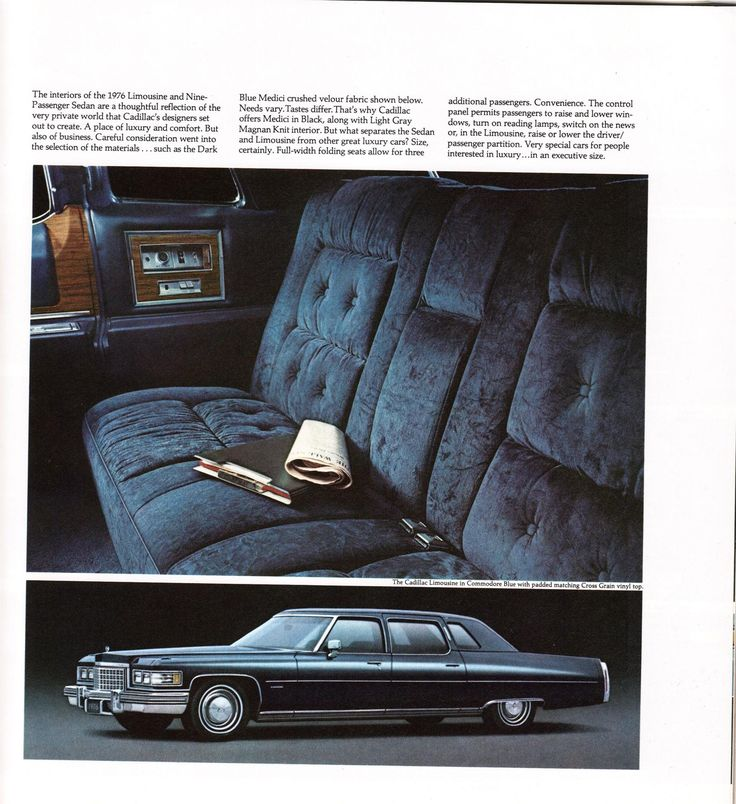 1976 Cadillac Fleetwood 75 Limousine