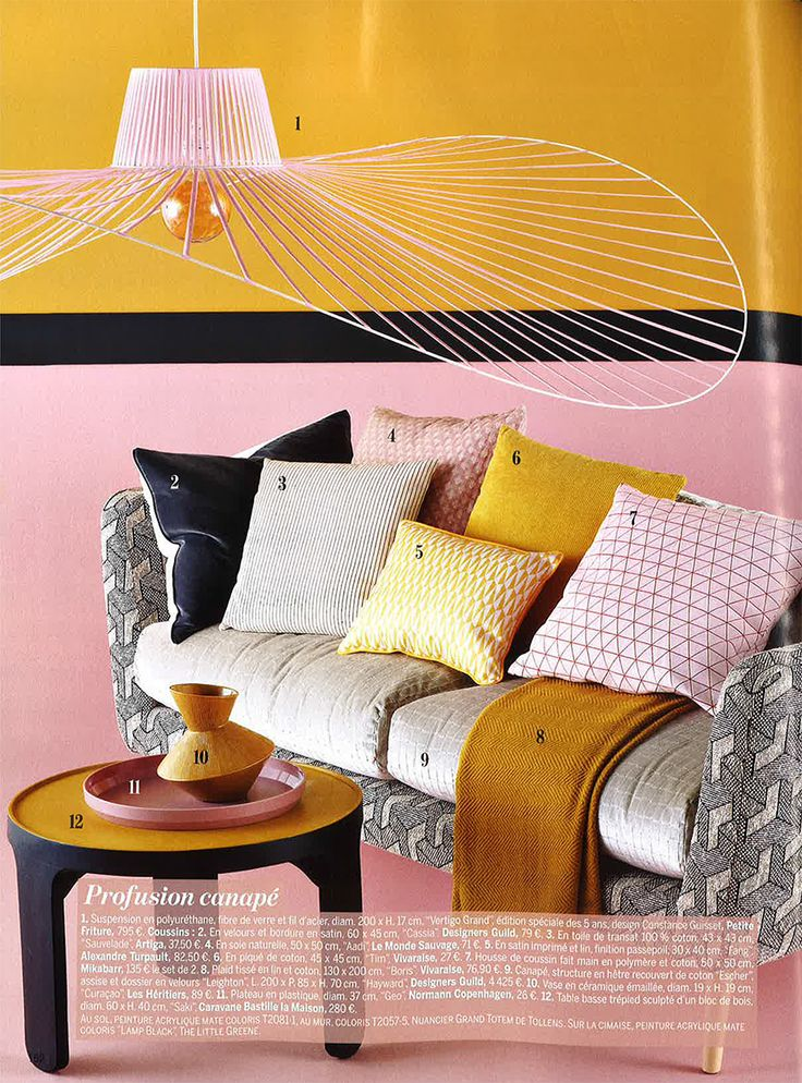 Designers Guild Hayward Sofa As Seen In Marie Claire Maison France Hot Off The Press