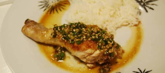Dampet kylling med sake | 鶏肉の蒸し焼き | toriniku no mushiyaki