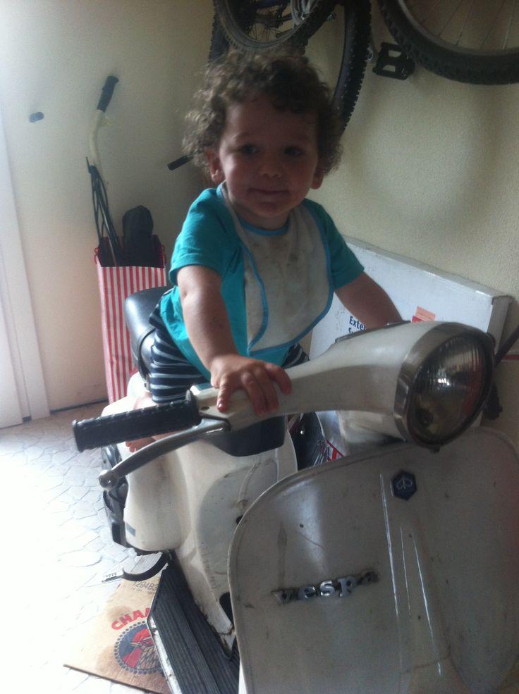 """""""da grande voglio la tua moto papà"""""""