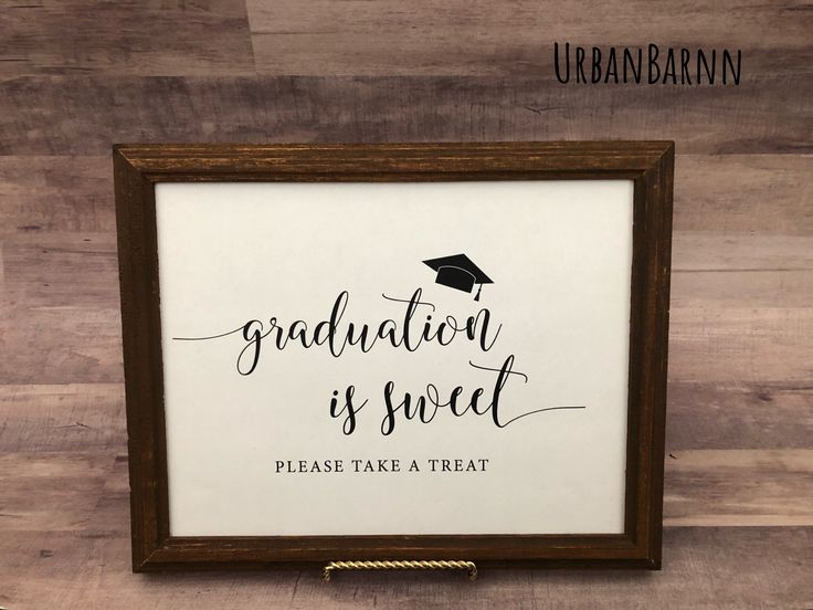 Graduation Is Sweet Take A Treat, Graduation Party Decorations, Graduation Favors, Grad Candy Buffet Sign, High School Grad Party Sign, 2019