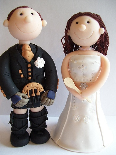 Eternal Cake Toppers - Scottish Wedding cake toppers