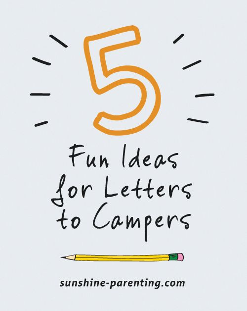 """With children heading to summer camp in a matter of weeks, parents will soon have a new daily """"to do""""– write and send a letter or email to their campers! Because we're not in the habit of writing l…"""