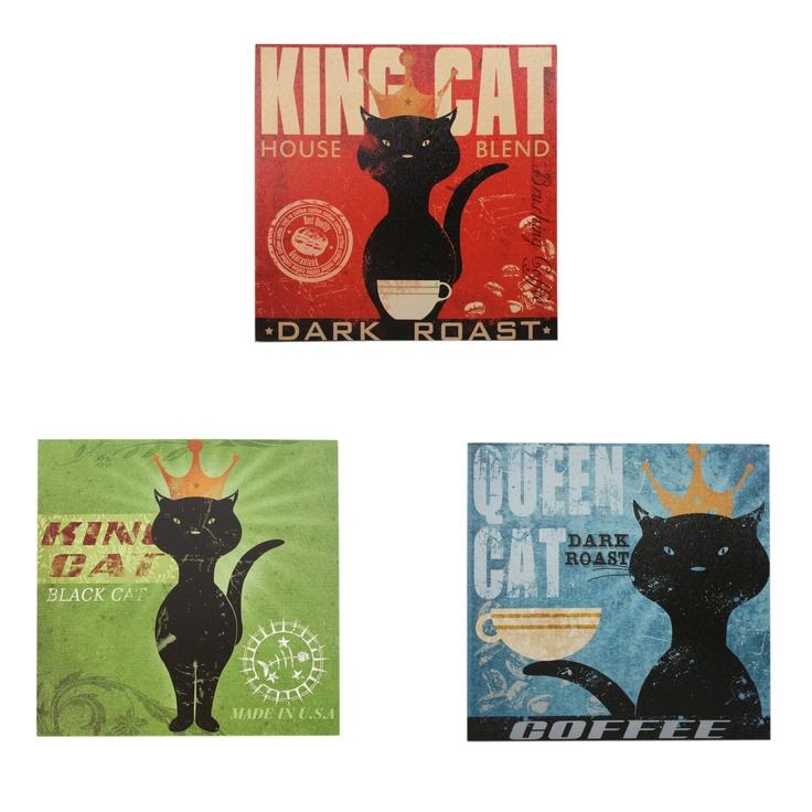 Canvassenset katten - Stijlvolle & Betaalbare Wanddecoratie | wanddecoratiestore.be