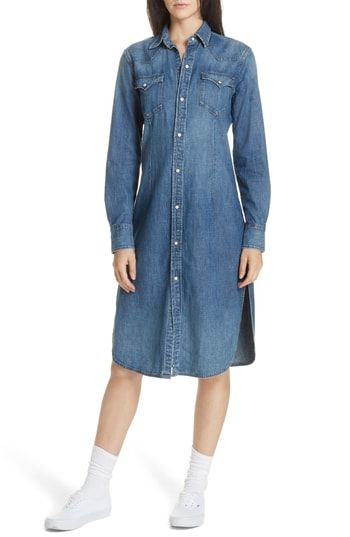 018d638782 Polo Ralph Lauren Denim Shirtdress in 2019
