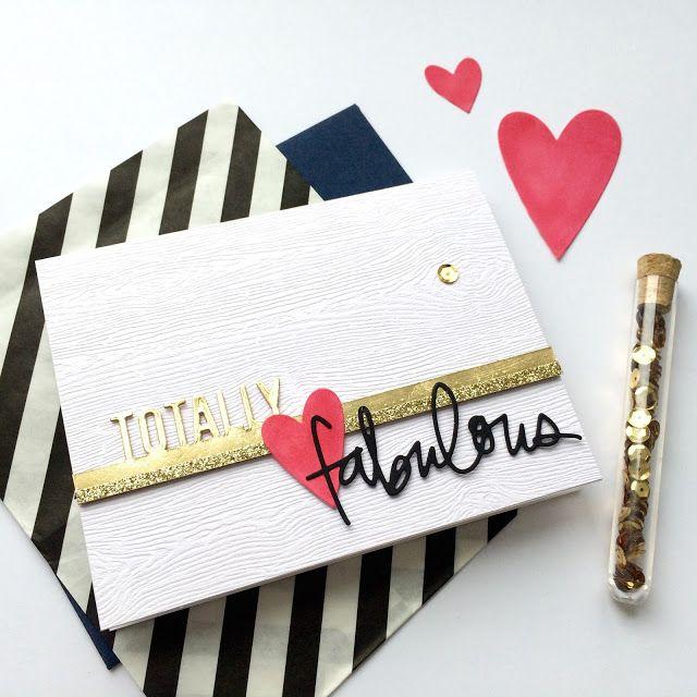 Falling Into Cardmaking blog for the #EllenHutsonLLC #MixItUpChallenge. @prettypinkposh #TotallyFabulous