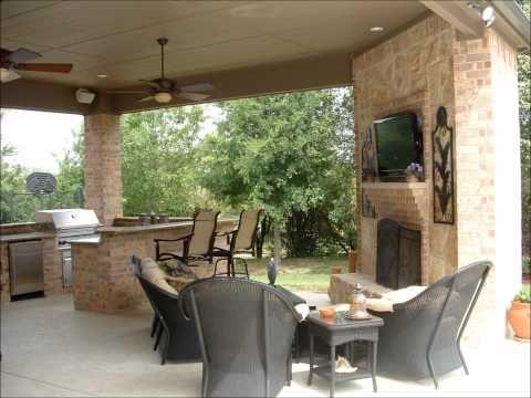 93 best Outdoor Kitchen images on Pinterest   Outdoor kitchens ...