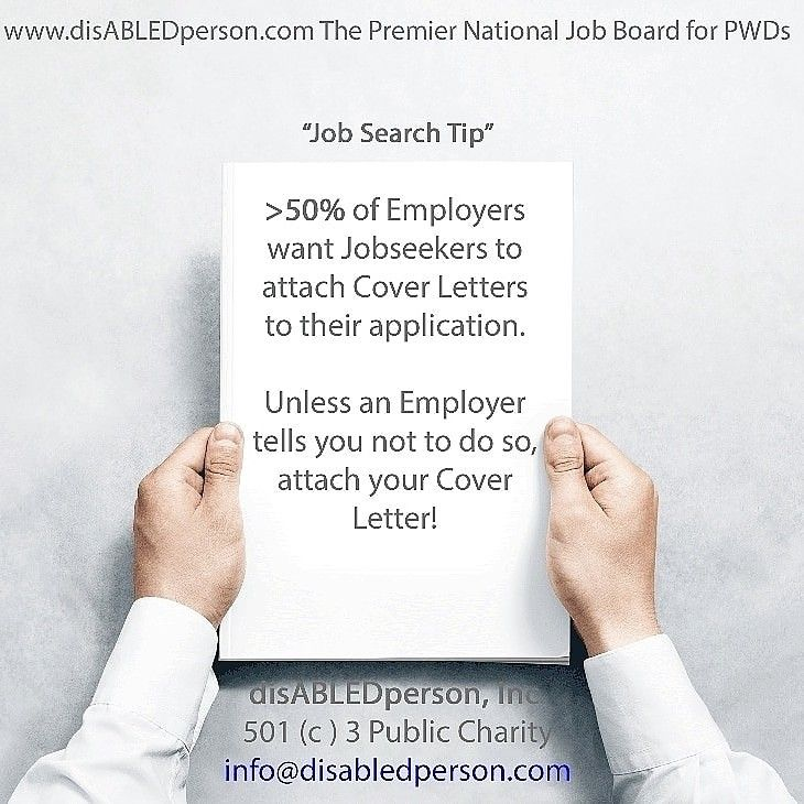 Disabledperson Com The Premier National Job Board For People With