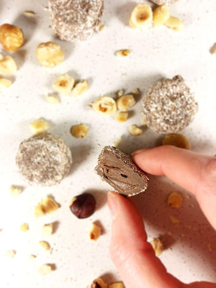 Hazelnut Praline Truffle