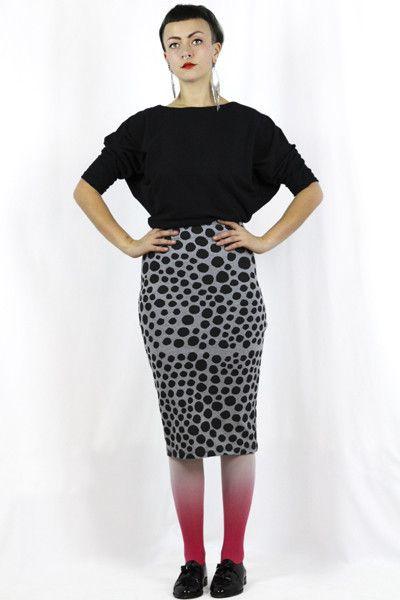 Spot Small - Pencil Skirt Stretch