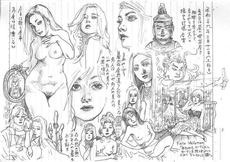 THE SEIJI pencil Diary20170311 girl art drawing illustration
