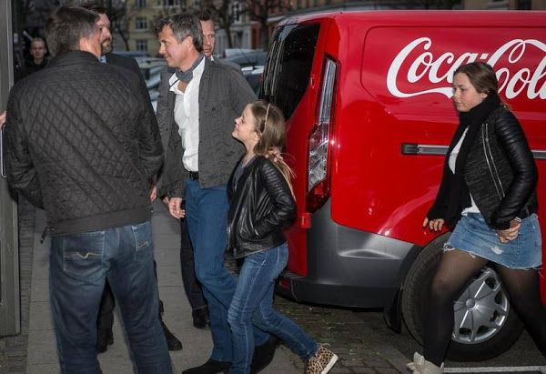 Royals & Fashion - May 4: Isabella and Prince Frederik attending the concert Adele, Copenhagen