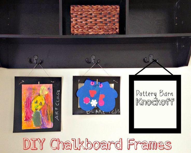 Diy Pottery Barn Knockoff Chalkboard Frames Primitives