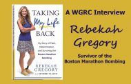 Surviving The Boston Marathon Bombing - Rebekah Gregory - Interview Air Date:  May 10, 2017