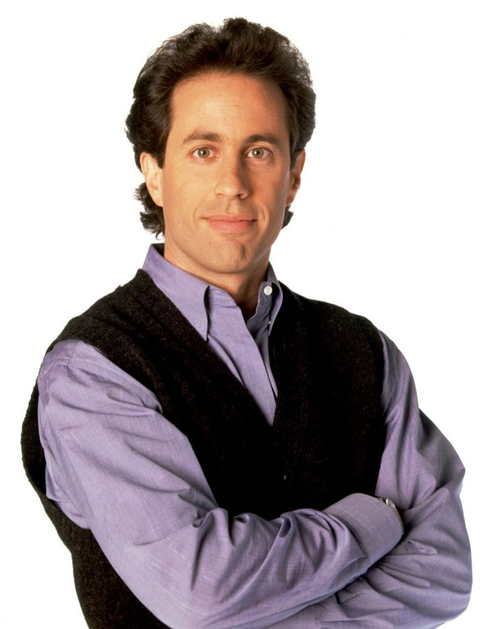 Jerry Seinfeld. He's the worst actor in the world and one of its best comedians!!! I love how he can barely restrain a smile when he's delivering his lines on SEINFELD.