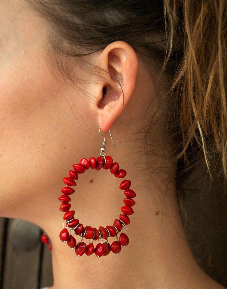 Jumbie Seeds Earrings