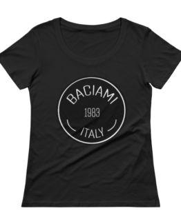 Baciami Ladies' Sheer Scoopneck T-Shirt