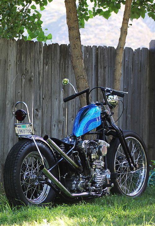 Classic Springer Chopper Bobber #harleydavidsonknucklehead