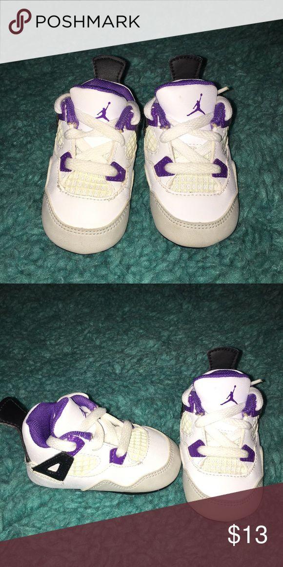 Baby girl Jordan's. Great condition. Jordan Shoes Baby & Walker