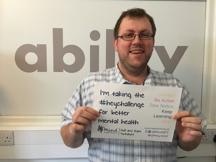 Stuart supporting the Hull & East Yorkshire MIND Heychallenge 2016