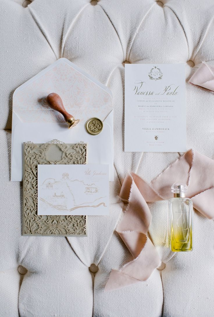 wedding invitation letter formats%0A This exquisite wedding invitation suite was created for Vanessa and Paolos  wedding in Florence Italy  Our hearts skipped a beat when we finally  completed