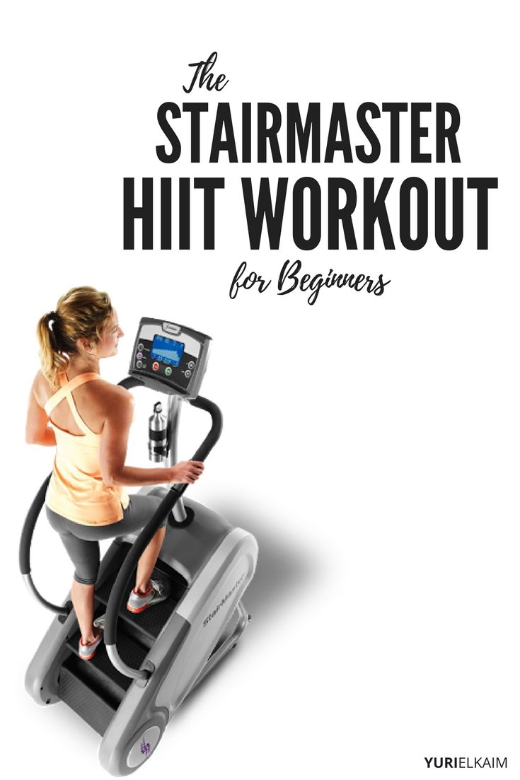 Yeah, the Stairmaster feels like hell when you're on it, but in reality it should be called the Stairway to Cardio Heaven. Because the results (serious fat burn and sculpted legs – without stressing your joints) speak for themselves. Check out this HIIT workout – plus a bunch of variations that can be made to suit all fitness levels.