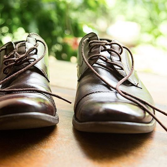 Good shoes take you Good places  #vintage #shoes #product #productphotography #detail #photography #groom #somethingold #old #brown #nature #stokerstudio #wedding #weddingphotography Follow us @stoker_studio
