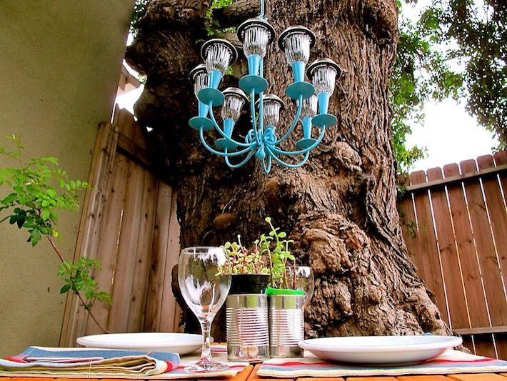 Amazing outdoor chandelier diy diy pinterest - Outdoor chandelier diy ...