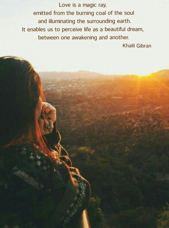 Khalil Gibran ♥ ♥ ♥ Rumi Hugs page