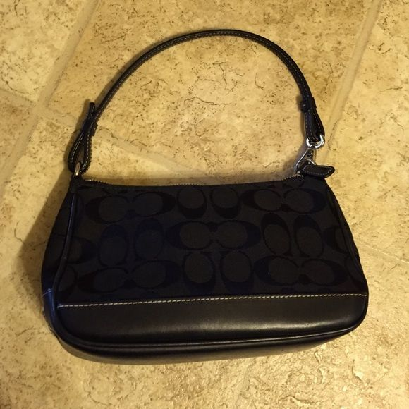 price drop Small black Coach purse Authentic Coach purse. Coach Bags Mini Bags
