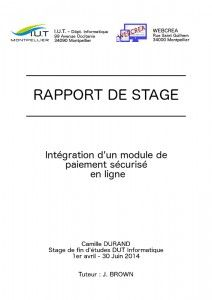 Rapport de stage and Sons on Pinterest