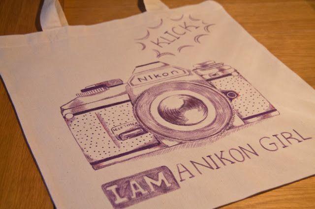 how to draw a nikon camera step by step