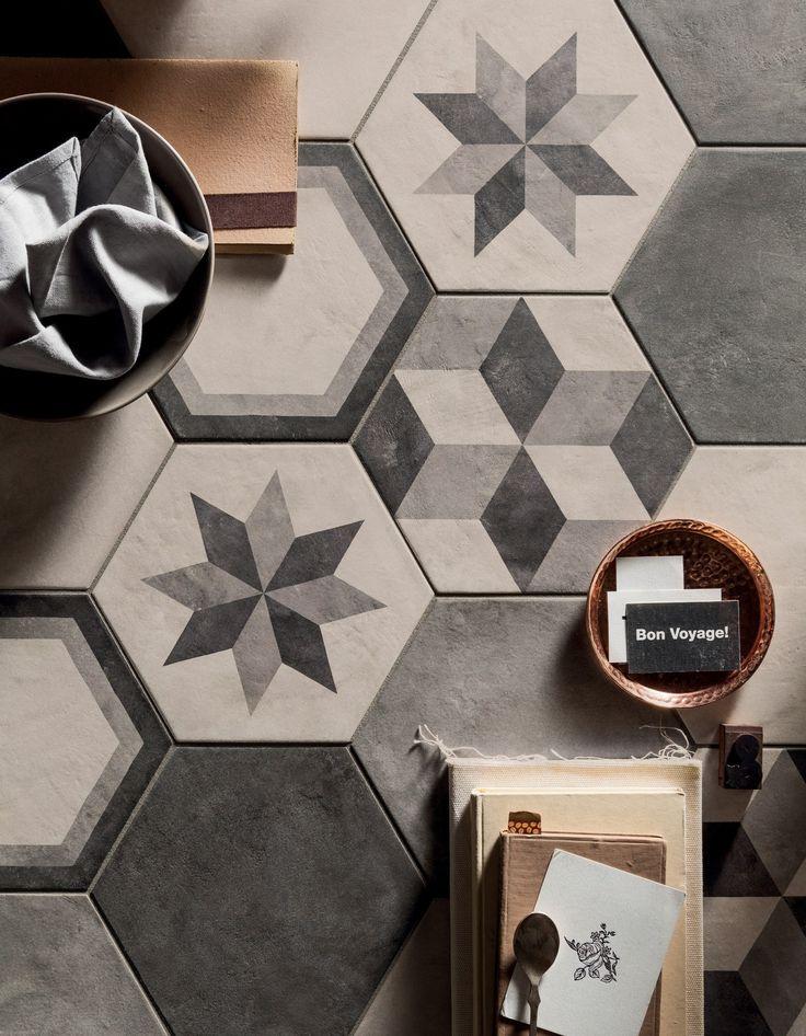 Full-body porcelain stoneware wall/floor tiles TERRA by @marcacorona