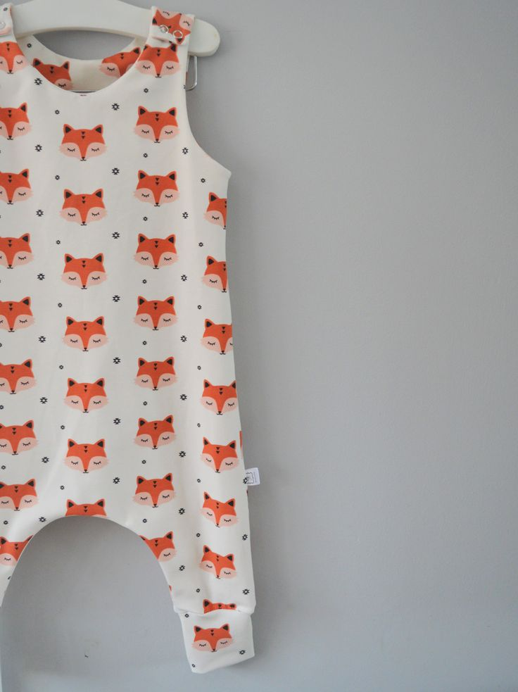 Sleepy Fox Dungaree Romper