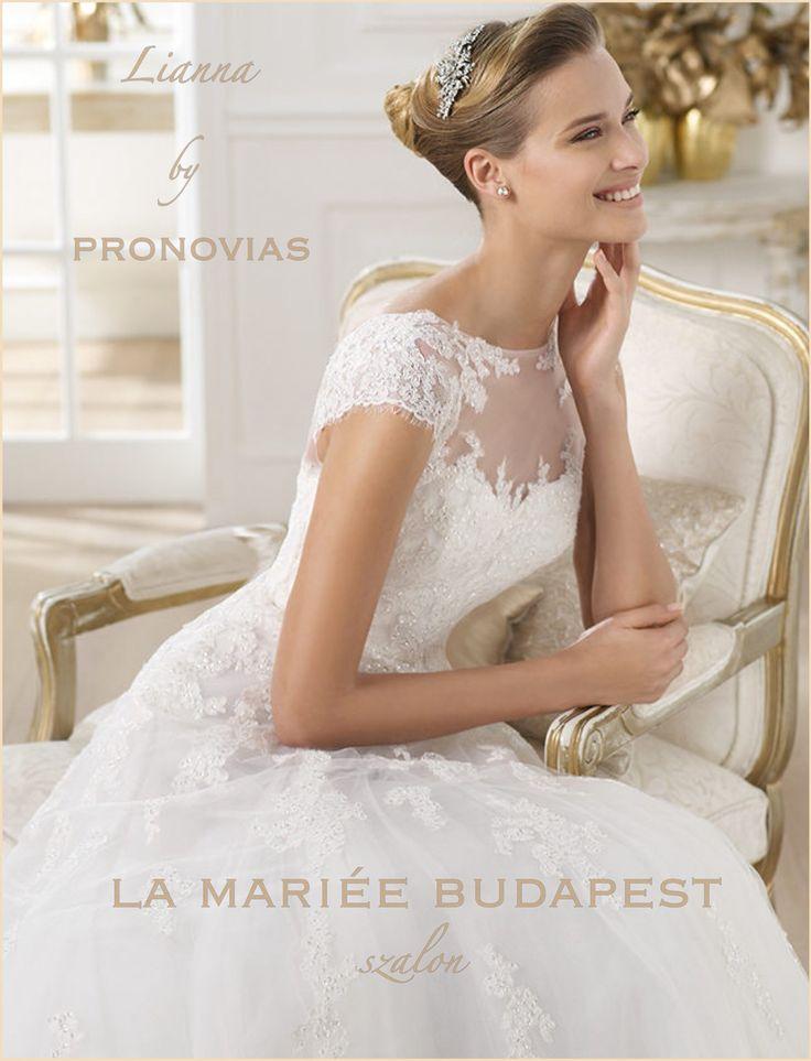 Lianna esküvői ruha - Pronovias kollekció  http://mobile.lamariee.hu/menyasszonyi-ruha-kollekciok/eskuvoi-ruhak/pronovias-2014