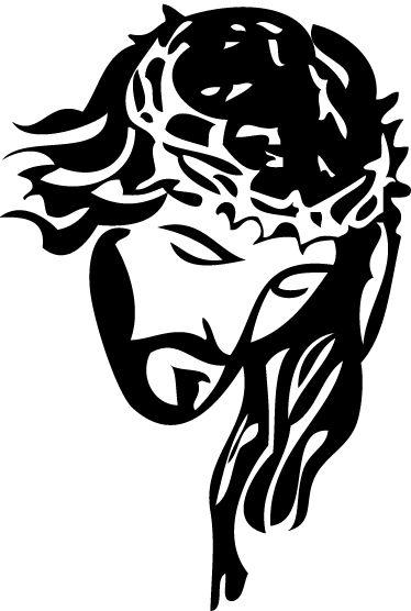 Adhesivo decorativo retrato Cristo