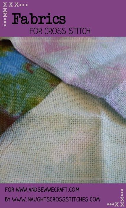 Fabrics for Cross Stitch - And Sew We Craft