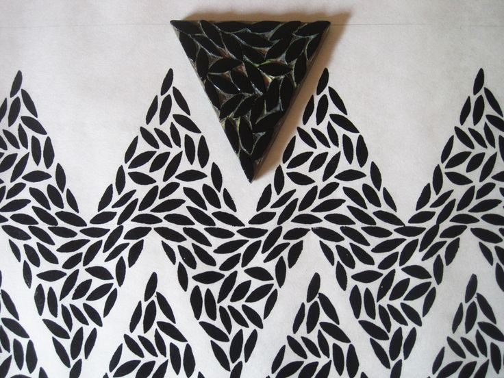 Zig zag block print - irene shade4