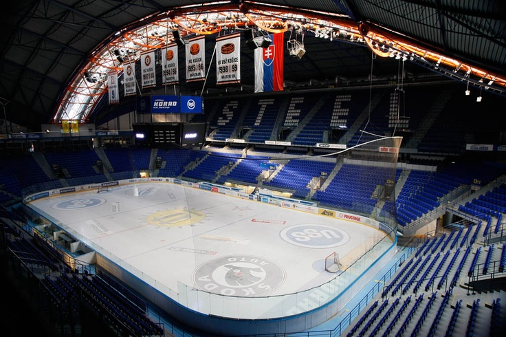 Steel Arena, Kosice...a great place to see some good old fashion European hockey,and it's also a piece of Slovakian hockey history.