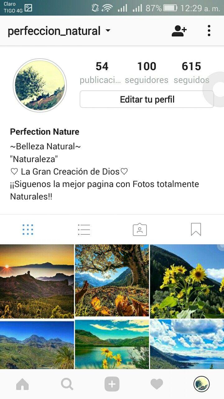 Siguiendo también en instagram!! @perfeccion_natural
