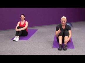 Z fleku pevné břicho a paže - sestava pro začátečníky - YouTube