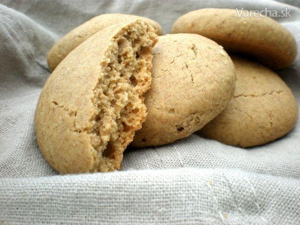 Celozrnné zázvorové sušienky