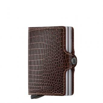 Secrid Twin Wallet Portemonnee brown amazon