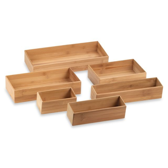 Picture Gallery Website Bamboo Drawer Organizer
