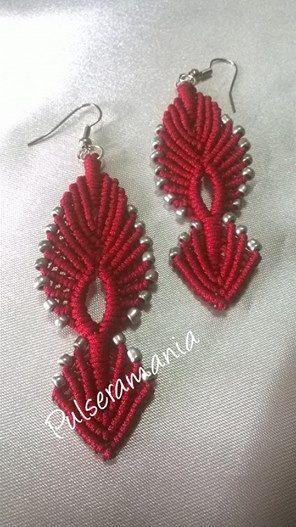 orecchini macramè