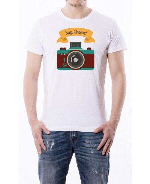T-shirt Say Cheese
