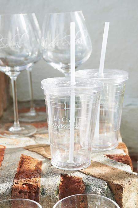 ICE COLD LEMONADE CUP - probably nice to use outside summertime..