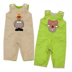 Turkey ~ Reindeer Reversible Longall: Apply, Outfits, Infants Toddlers, Revere Infants, Reindeer Revere, Revere Longal, Toddlers Longal