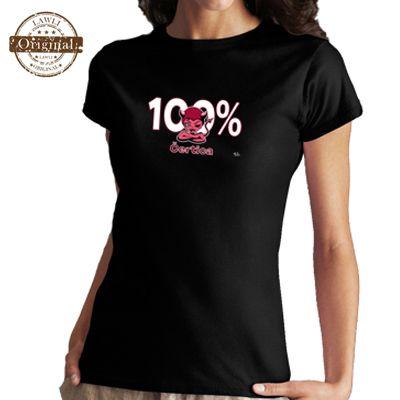 Vtipné tričká - 100 % čertica