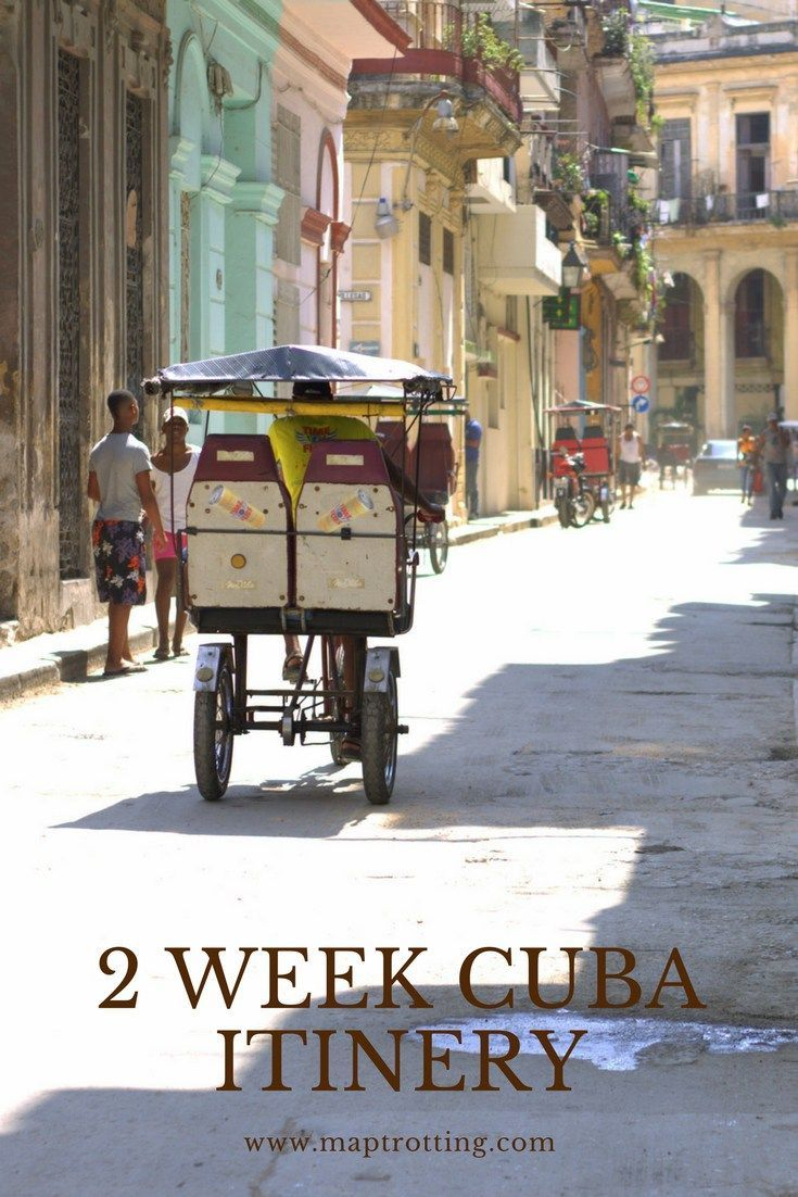 2 Week Cuba Itinerary. Our Epic Getaway to the Jewel of The Caribbean. Travel in the USA.